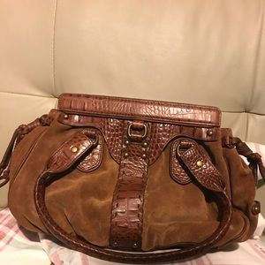 Cole Haan Small Rouched Satchel